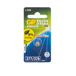 Батарейки - Батарейка «GP» 377F, 1шт, цена за 1шт, 0