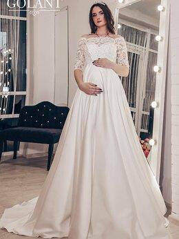 Платья - Атласное свадебное платье для беременных Бенита, 0