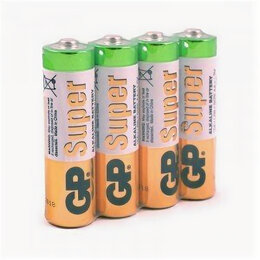 Батарейки - Элемент питания GP 15A LR6/316 б/б 4S (165815), 0