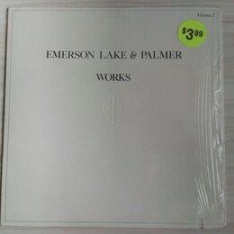 Виниловые пластинки - USA Emerson, Lake And Palmer - Works. Доставка, 0