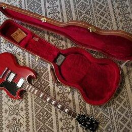 Электрогитары и бас-гитары - Gibson SG Standard 2018 Heritage Cherry, 0