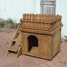 Лежаки, домики, спальные места - Домик (будка) для собаки (кошки), 0