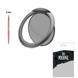 Держатели для мобильных устройств - Держатель-кольцо для телефона YOLKKI Saturn черный, 0