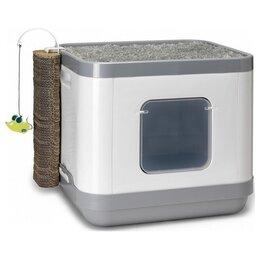 Лежаки, домики, спальные места - Moderna Cat Concept 4 в 1 47x39x43h см Серый, 0