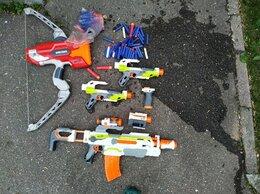 Игрушечное оружие и бластеры -  Продаю автоматы нёрфы,как новые., 0