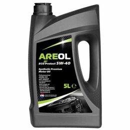 Масла, технические жидкости и химия - AREOL ECO Protect 5W40 (5L) масло моторное! синт., 0