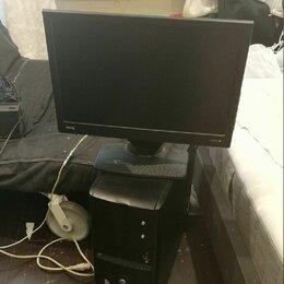 Настольные компьютеры - Компьютер и монитор для работы и учёбы, 0