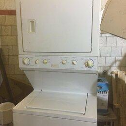 Оборудование для прачечной и химчистки - Стирально и сушильная машина Frigidaire MET1041ZAS3, 0