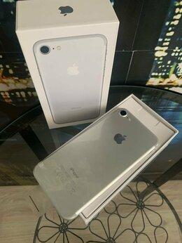 Мобильные телефоны - iphone 7 silver 128gb новый запечатанный в пленках, 0