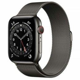 Умные часы и браслеты - Apple Watch Series 6 40mm GPS+Cellular Graphite…, 0