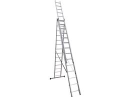 Кровля и водосток - Лестница 3-х секц.алюмин. 4,23 м 3х15 6315…, 0