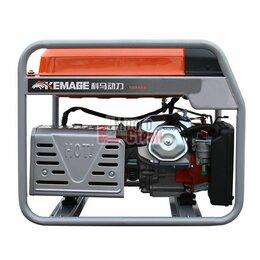 Электрогенераторы и станции - Генератор бензиновый TOR KM4000H 2,8кВт 220В 16л с кнопкой запуска, 0