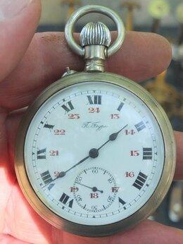 Карманные часы - карманные часы Павел Буре, царская Россия,точный…, 0