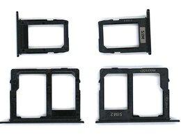 Прочие запасные части - Лоток для SIM-карты Samsung Galaxy A6 Plus…, 0