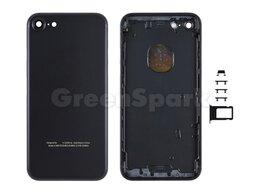 Корпусные детали - Задняя крышка для iPhone 7 (черный), 0