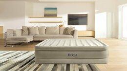 Надувная мебель - Двуспальная надувная кровать Ultra Plush Airbed…, 0