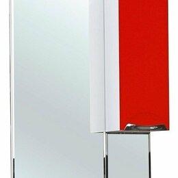 Зеркала - Зеркало-шкаф Альфа 55 R красный, 0