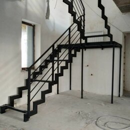 Лестницы и элементы лестниц - Удобные лестницы на металлокаркасе и из дерева, 0