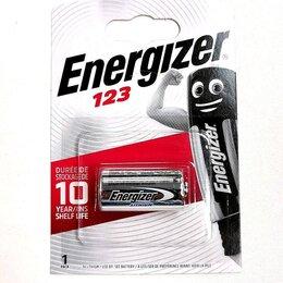 Батарейки - Батарейка Energizer CR123 3V, 0