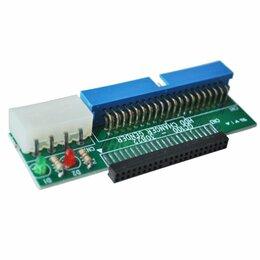 """Компьютерные кабели, разъемы, переходники - Переходник 2.5"""" IDE 44 pin - 3.5"""" IDE 40 pin, 0"""