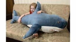Мягкие игрушки - акула икея новая, 0