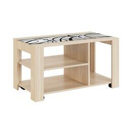 """Столы и столики - Журнальный стол """"Виктория-4"""" (туя), 0"""