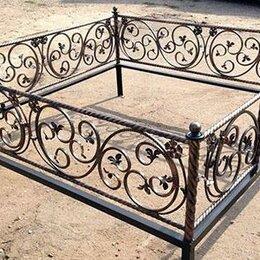 Ритуальные товары - Кованая оградка №14 - изготовим по вашим размерам, 0
