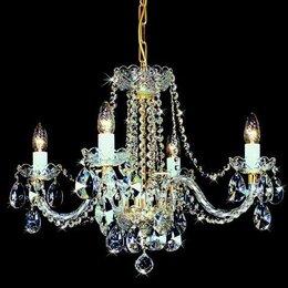 Люстры и потолочные светильники - Чешская люстра Bydzov 4004 04HK-669SW, 0