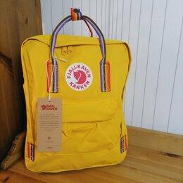 Рюкзаки - Рюкзак Kanken Classic Rainbow (Warm Yellow), 0