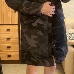 Пуховики - Куртка длинная зимняя мужская, 0