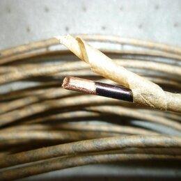 Кабели и разъемы - Western electric 20-х годов - кабель для акустики, 0