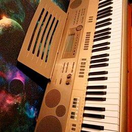 Клавишные инструменты - Синтезатор casio at-5, 0