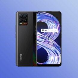Мобильные телефоны - Realme 8 NFC 128GB Global Black Новый, 0