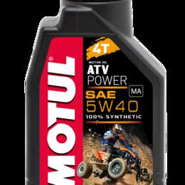 Масла, технические жидкости и химия - Масло моторное MOTUL (Мотюль) ATV POWER 4T, SAE 5W40 (4л), 0