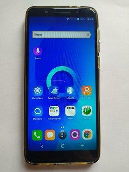 Мобильные телефоны - Смартфон Alcatel 3x 5058i (2018г) 3/32 синий, 0