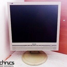 """Мониторы - Монитор с дефектом ЖК 17"""" 5:4 Philips 170B5 белый, 0"""