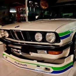 Кузовные запчасти - Front spoiler Alpina BMW e 28 , 0