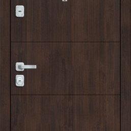 Входные двери - Дверь входная  M 4.П23  Almon 28/Cappuccino Veralinga, 0