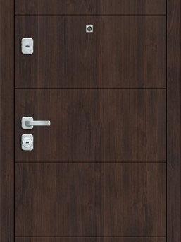 Входные двери - Дверь входная  M 4.П23  Almon 28/Cappuccino…, 0