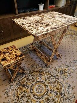 Комплекты садовой мебели - Набор дачной мебели деревянный складной, 0