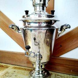 Самовары - Самовар жаровый(на дровах) 4-4,5литровый, 0