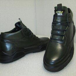 Ботинки - Ботинки утепленные из натуральной кожи турецкие, 0