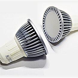 Лампочки - Светодиодная лампа MR16 GU10 5Вт 220в холодный, 0