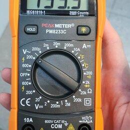 Измерительные инструменты и приборы - Мультиметр , 0