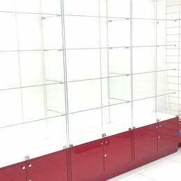 Витрины - Стеклянные витрины премиум-класса с подсветкой, 0
