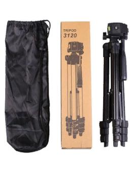 Фотоаппараты - Штатив для камеры и телефона - Tripod 3120 , 0