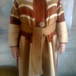 Свитеры и кардиганы - вязаное пальто тёплое, 0