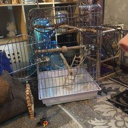 Клетки и домики - Клетка для попугаев большая , 0