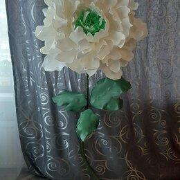 Цветы, букеты, композиции - Пион из изолона, 0