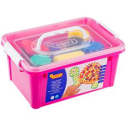 Аэрозольная краска - Краски пальчиковые JOVI, 06 цветов, 750г, с аксессуарами, пластиковый контейнер, 0